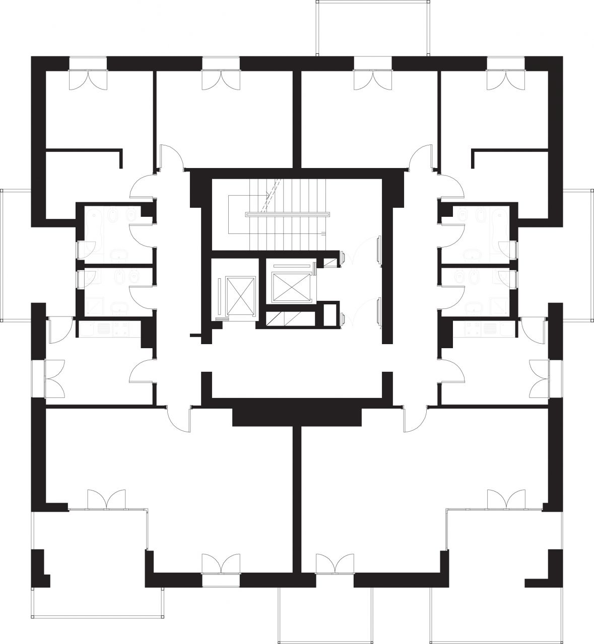 3/8 Typical floor plan