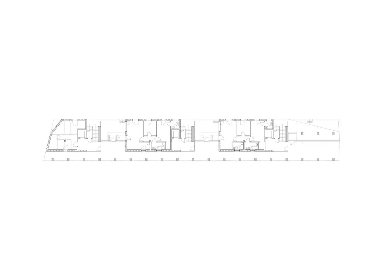 3/4 Ground floor plan