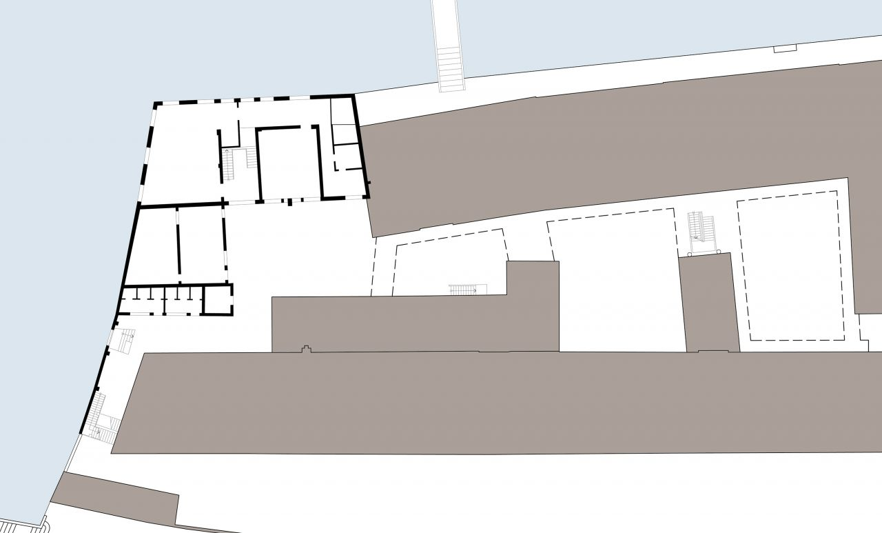4/10 Pre-existent ground floor plan