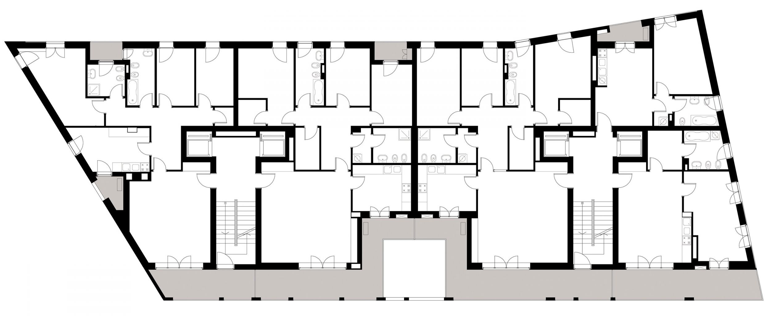 1/7 Typical floor plan
